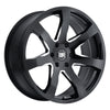 Black Rhino Mozambique 20x8.5 6x139.7 ET45 CB 112.1 Gloss Black w/Milled Spokes Wheel