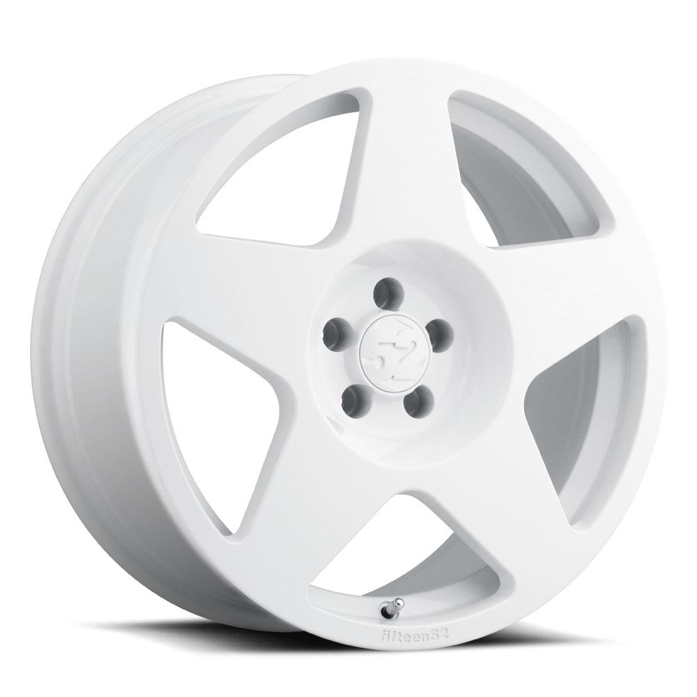 fifteen52 18x8.5 Tarmac 5x108 Rally White