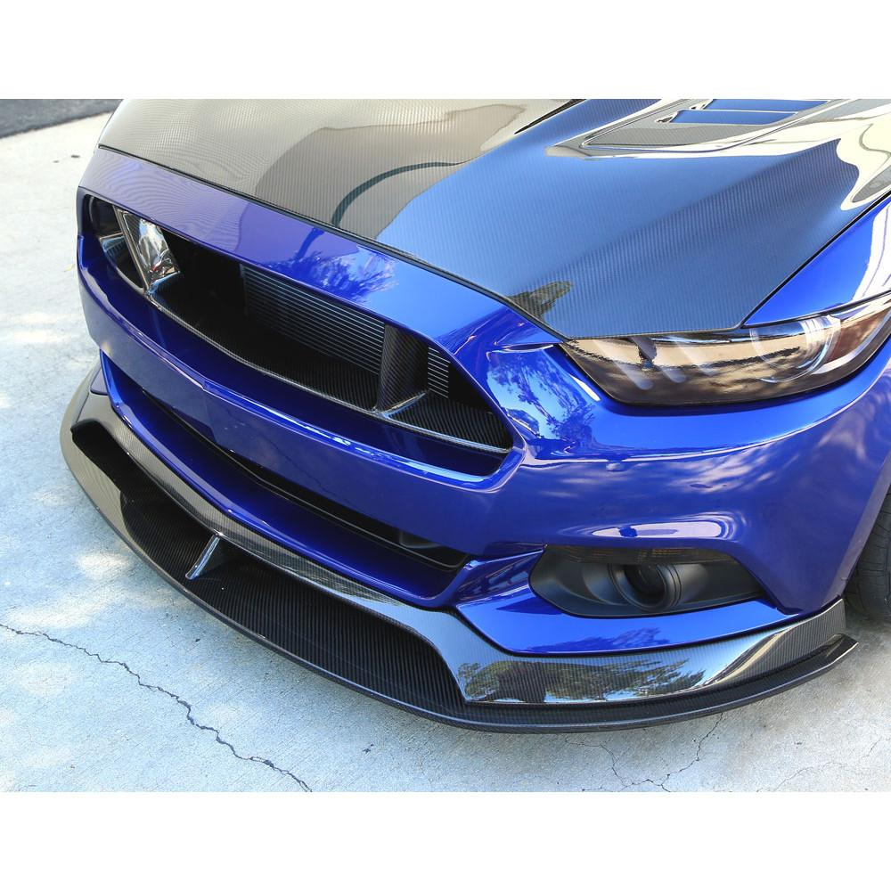 Anderson Composites Type-AR Carbon Fiber Chin Spoiler 2015-2017 Ford Mustang (without performance package)