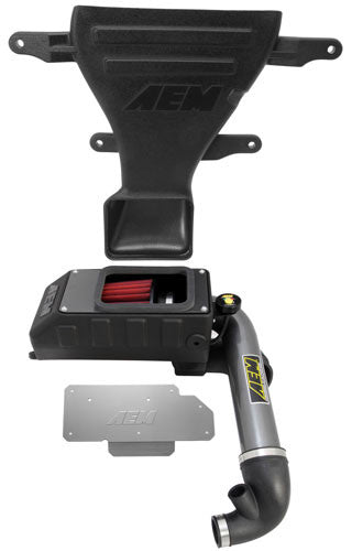 AEM Cold Air Intake 2007-10 Mini Cooper S / 2010 Clubman S 1.6L (Gunmetal Gray)