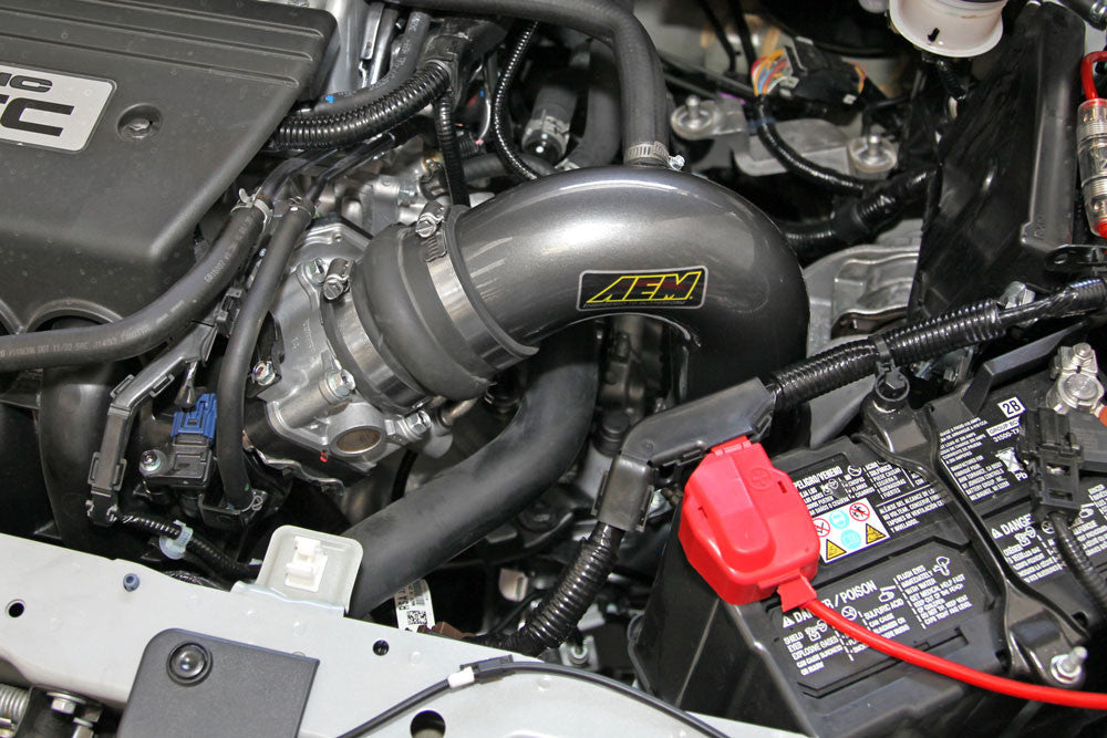 AEM Cold Air Intake 2012-2015 Honda Civic Si 2.4L / 2013-14 Acura ILX 2.4L (Gunmetal Gray)