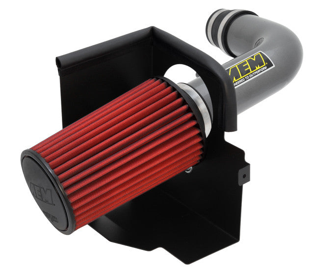 AEM Brute Force Short Ram Intake 2007-2011 Jeep Wrangler 3.6L V6 (Gunmetal Gray)
