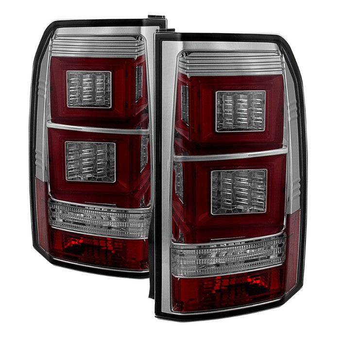 2010-2014 Land Rover Discovery LR4 Light Bar LED Tail Lights - Smoke