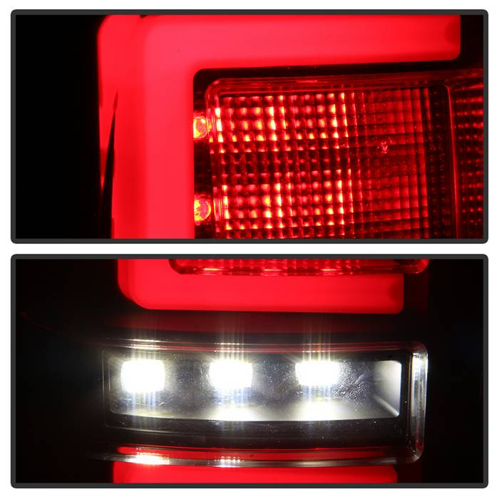 2016-2017 Toyota Tacoma LED Tail Lights - Black
