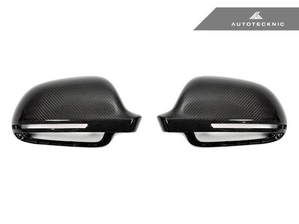 Autotecknic Replacement Carbon Fiber Mirror Covers Audi 8P A3/ S3 | B8 A4/ S4 | 8T A5/ S5