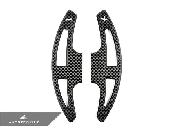AutoTecknic Carbon Fiber Competition Shift Levers (Paddles) - BMW E9X M3 | E70 X5M | E71 X6M M-DCT