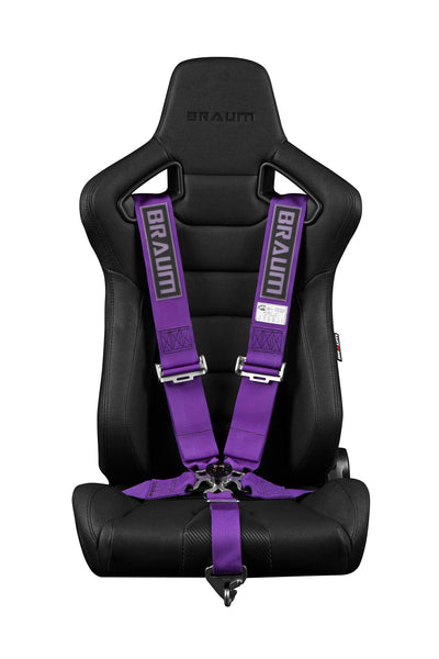 "Braum 5 PT – 3"" SFI 16.1 Racing Harness (Purple)"
