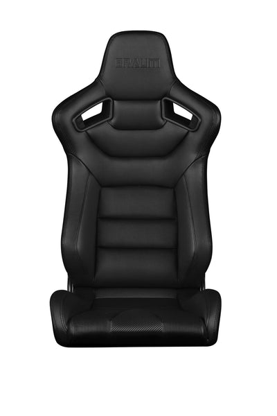 Braum Elite Series Racing Seats (Black Stitching) Fixed Back – EACH