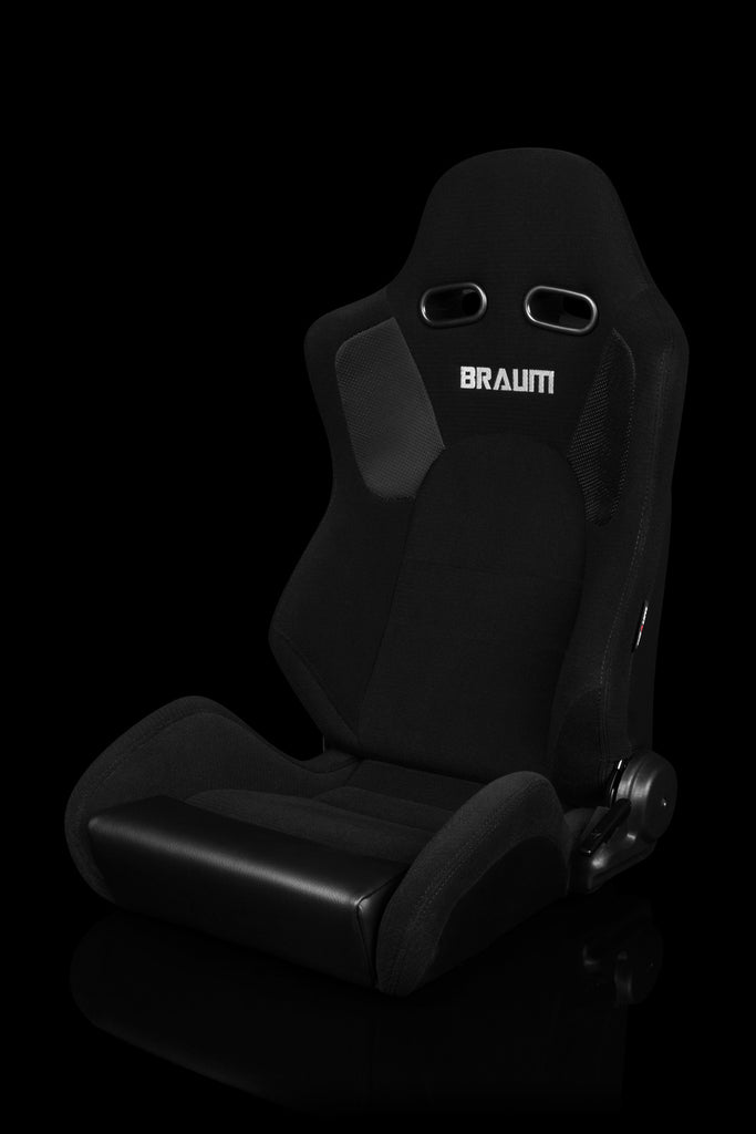 Braum Advan Series Racing Seats (Black Cloth) – PAIR