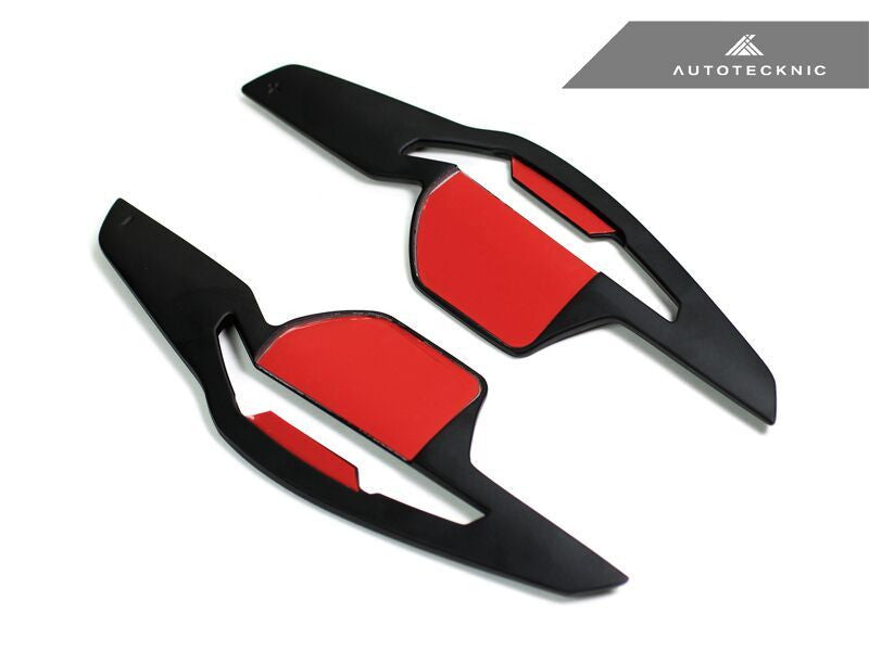 AutoTecknic Competition Steering Shift Paddles (Stealth Black) 2006-2012 Audi DSG Vehicles.