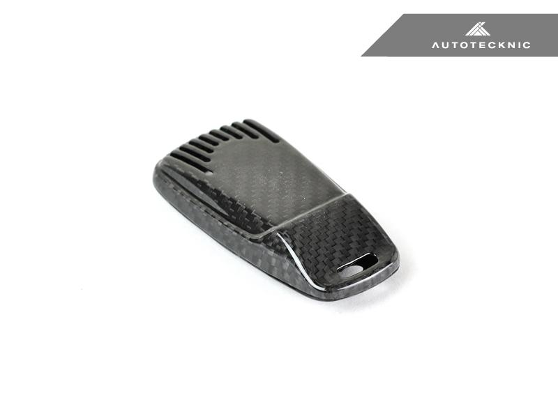 Autotecknic Replacement Carbon Fiber Key Cover Audi Vehicles 17-Up