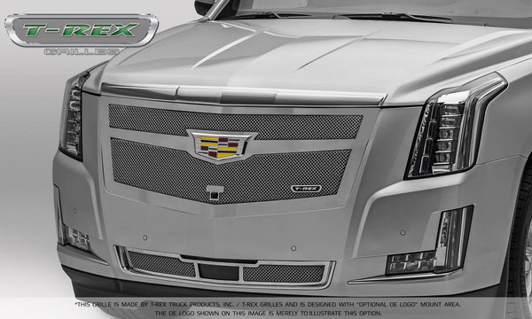 T-Rex Upper Class Main Grille Replacement 2015-2016 Cadillac Escalade (Chrome Plated & Polished)