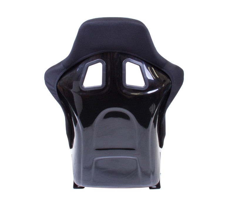 NRG Fiber Glass Bucket Seat Black (Medium) – Each