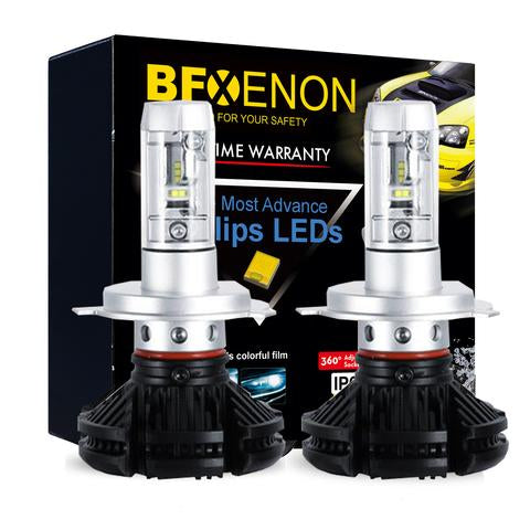 BF Xenon LED H4 / 9003 Bi-Xenon High & Low Beam - Headlight Upgrade Kit