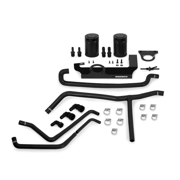Mishimoto Baffled Oil Catch Can System 2016+ Chevrolet Camaro 2.0T