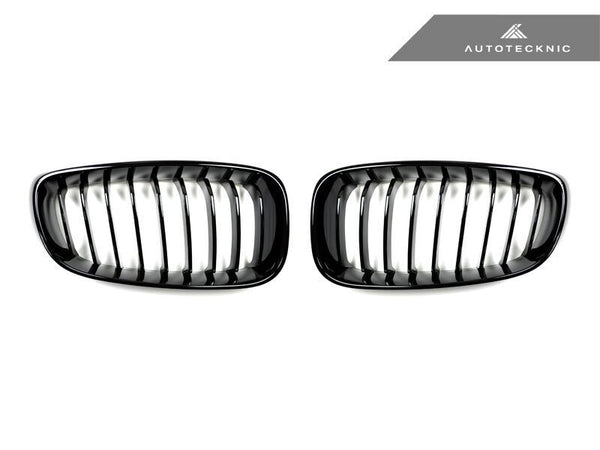AutoTecknic Replacement Glazing Black Front Grilles BMW F34 3-Series Gran Turismo