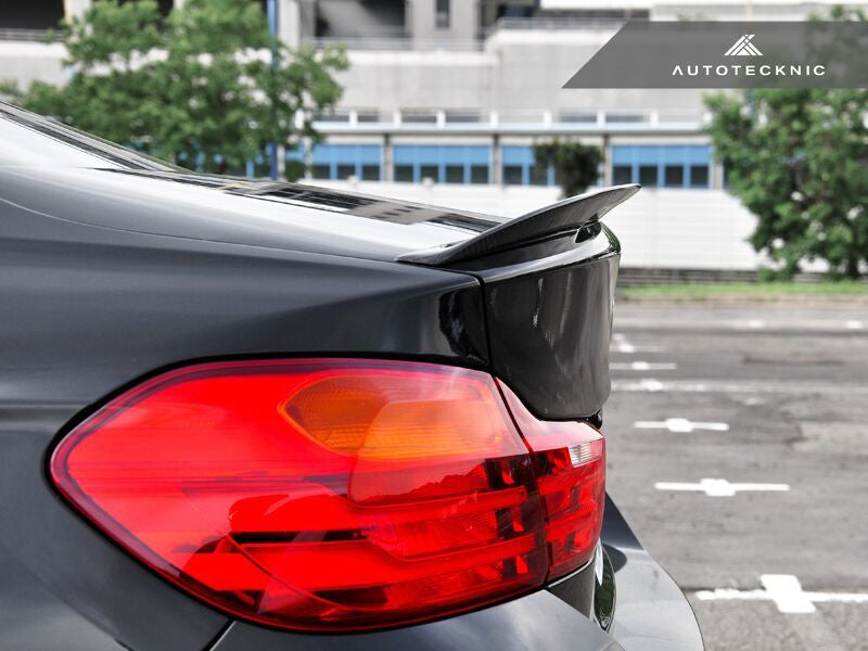 AutoTecknic Vacuumed Carbon Fiber Performante Trunk Spoiler BMW F32 4-Series Coupe