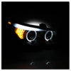 2008-2010 BMW E60 5 Series Projector Headlights - HID Model Only With AFS (Does Not Fit Halogen Model Non AFS Model ) - Black