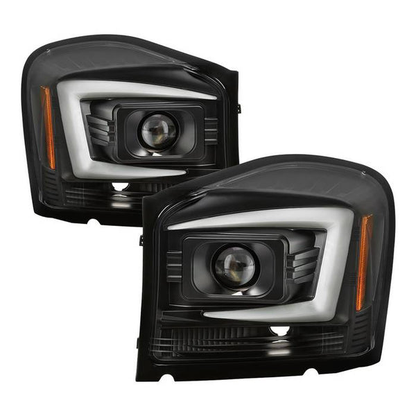 2004-2006 Dodge Durango Projector Headlights - Black