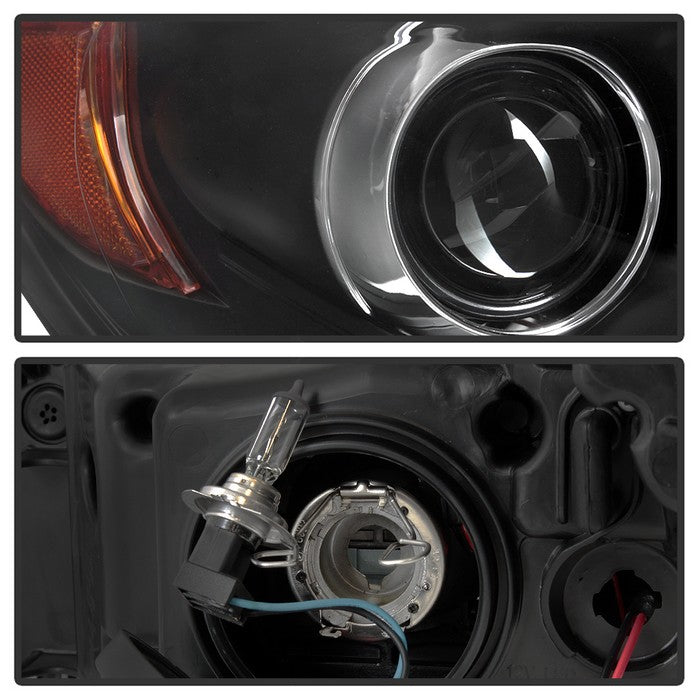 2015-2017 Toyota Camry Projector Headlights - Black