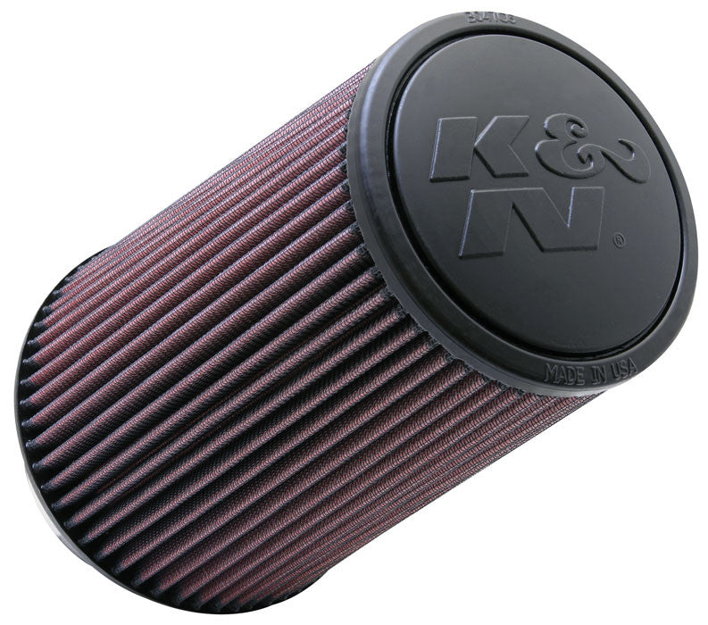 "K&N Universal 4"" Flange / 9"" Tall Air Filter"