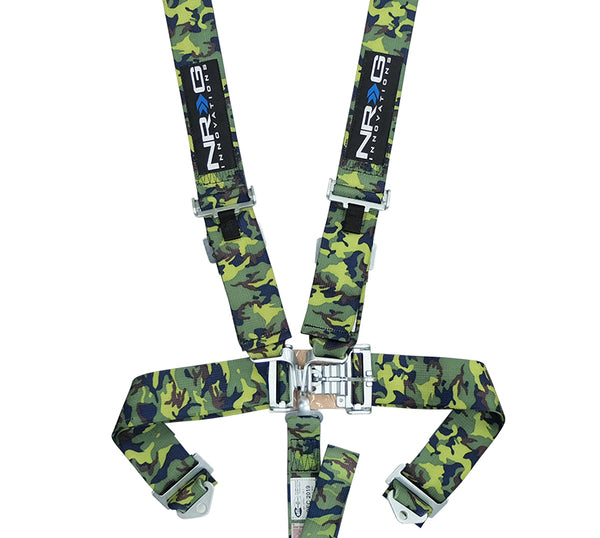 "NRG SFI Approved Spec 16.1 (3"") Harness 5 Point Latch Link (Camo)"