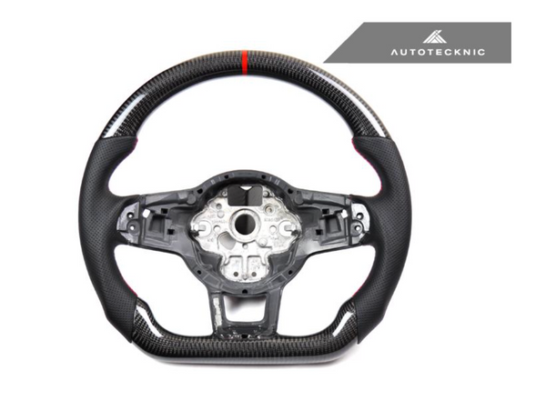 AutoTecknic Replacement Carbon Steering Wheel 2015-Up Volkswagen GTI / Golf R / GLI