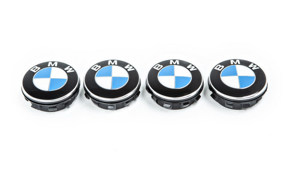 BMW Floating Wheel Center Cap Set - 72.6mm