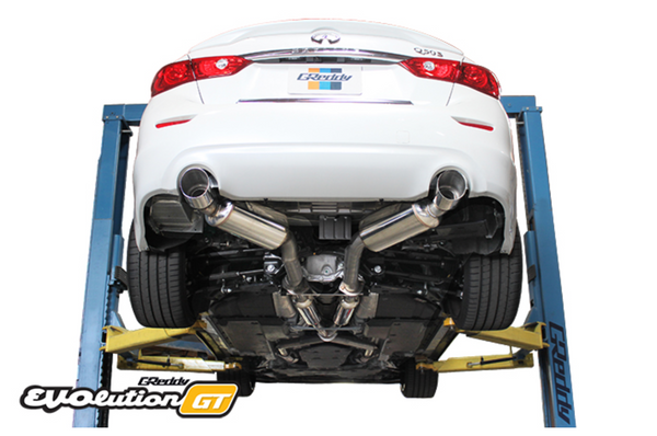 Greddy EVOlution GT Exhaust 2016+ Infiniti Q50 (RWD ONLY)