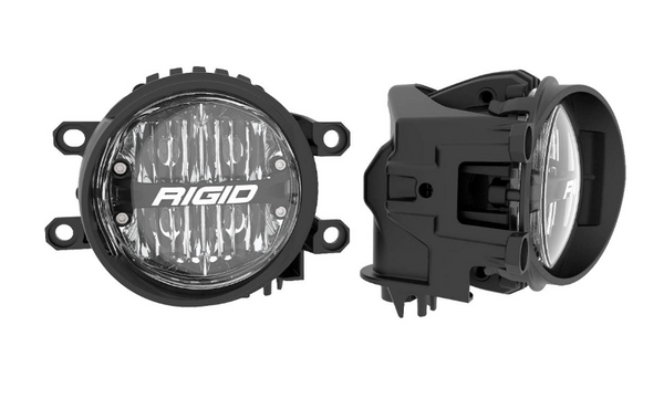 Rigid Industries 360-Series 4in LED SAE J583 Fog Light - 2014+ Toyota 4Runner/Tundra - White (Pair)