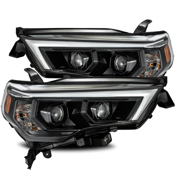AlphaRex LUXX-Series LED Projector Headlights-Black 2014-2020 Toyota 4Runner