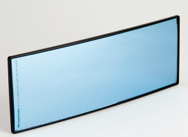 Broadway Blue Flabeg Wide View Mirror 260 x 90mm Convex