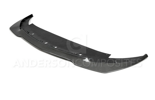 Anderson Composites Carbon Fiber Front Splitter for 2015-2020 Ford Mustang Shelby GT350R