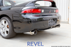 Revel Medallion Touring S Dual Muffler 1990-1999 Mitsubishi 3000GT VR4 Single Wall Blue Tip, Includes Baffle/Silencer