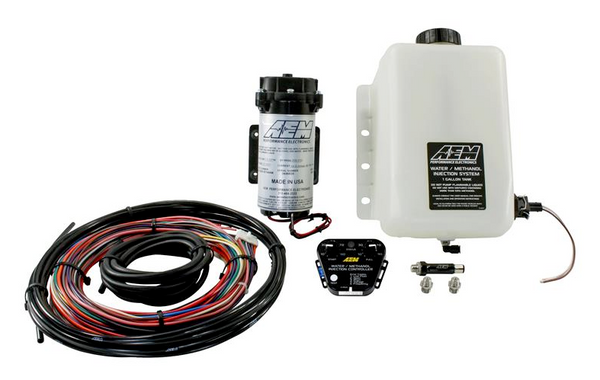 AEM V3 One Gallon Water/Methanol Injection Kit - Multi Input