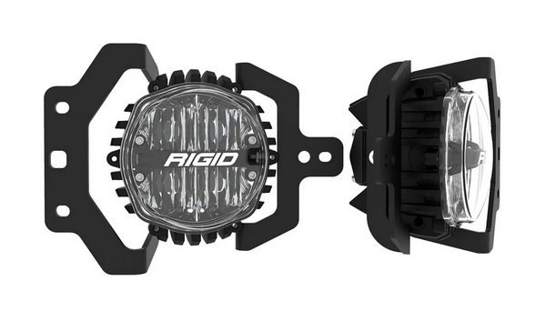 "Rigid Industries 360-Series 4"" LED Fog Lights: 2018+ Jeep Wrangler JL"