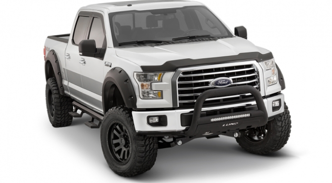 Bushwacker Pocket Style Flares 2015-2016 Ford F-150 Set of 4