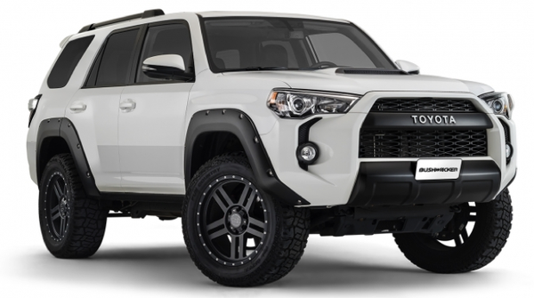 Bushwacker Pocket Style Flares 2014-2016 Toyota 4Runner Rear Pair Only