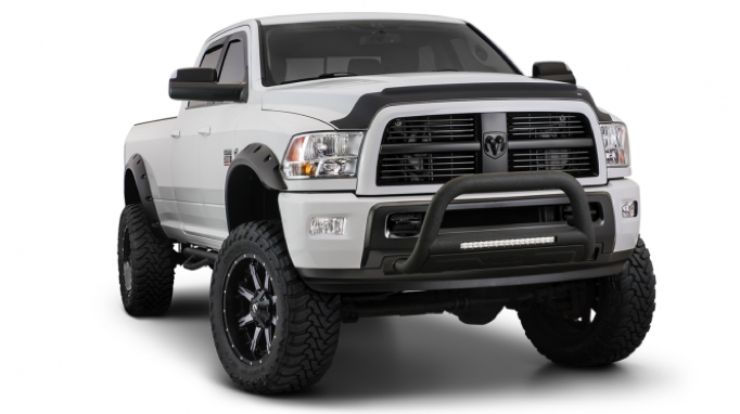 Bushwacker Pocket Style Flares 2010 2016 Dodge Ram 2500
