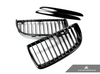 Autotecknic Replacement Glazing Black Front Grilles BMW E90 Sedan / E91 Wagon | 3 Series