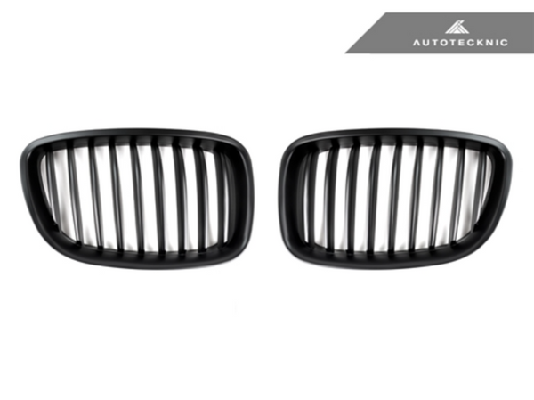 Autotecknic Replacement Stealth Black Front Grilles BMW F07 5 Series Gran Turismo