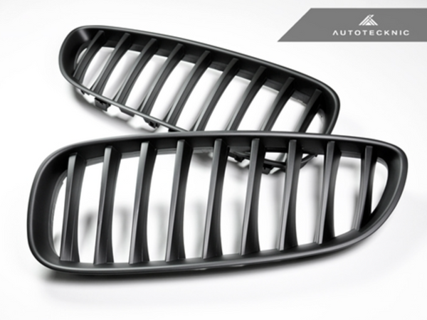 Autotecknic Replacement Stealth Black Front Grilles BMW E89 Z4 Series