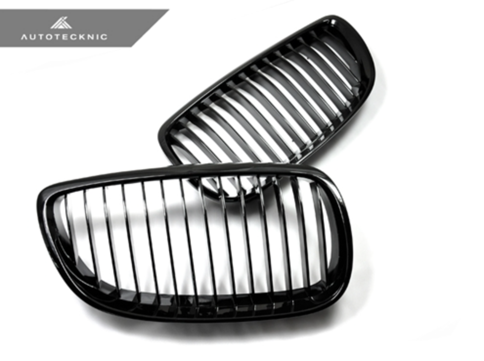 Autotecknic Replacement Glazing Black Front Grilles BMW E92/ E93 3-Series Coupe/ Cabrio (including E9X M3)