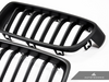 Autotecknic Replacement Stealth Black Front Grilles BMW F30 Sedan / F31 Wagon | 3 Series