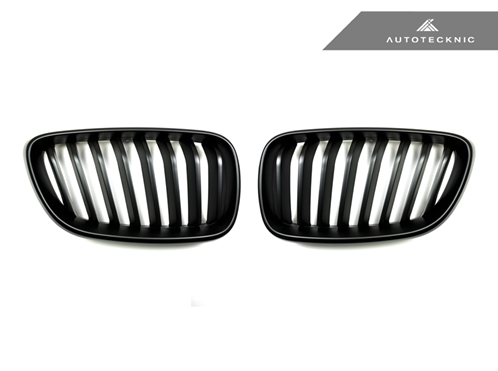 Autotecknic Replacement Stealth Black Front Grilles BMW F22 2-Series Coupe