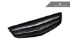AutoTecknic Replacement Stealth Black Front Grille 2008-2013 Mercedes Benz W204 C-Class Sedan