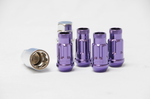 Muteki SR48 Open End 12x1.25 Purple (Lock Set) 48mm Tall