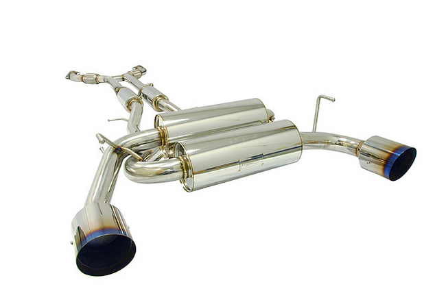 MXP Cat-Back Exhaust 2009-up Nissan 370Z (Manual Transmission)