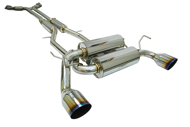 MXP Cat-Back Exhaust 2008-up Infiniti G37 Sedan