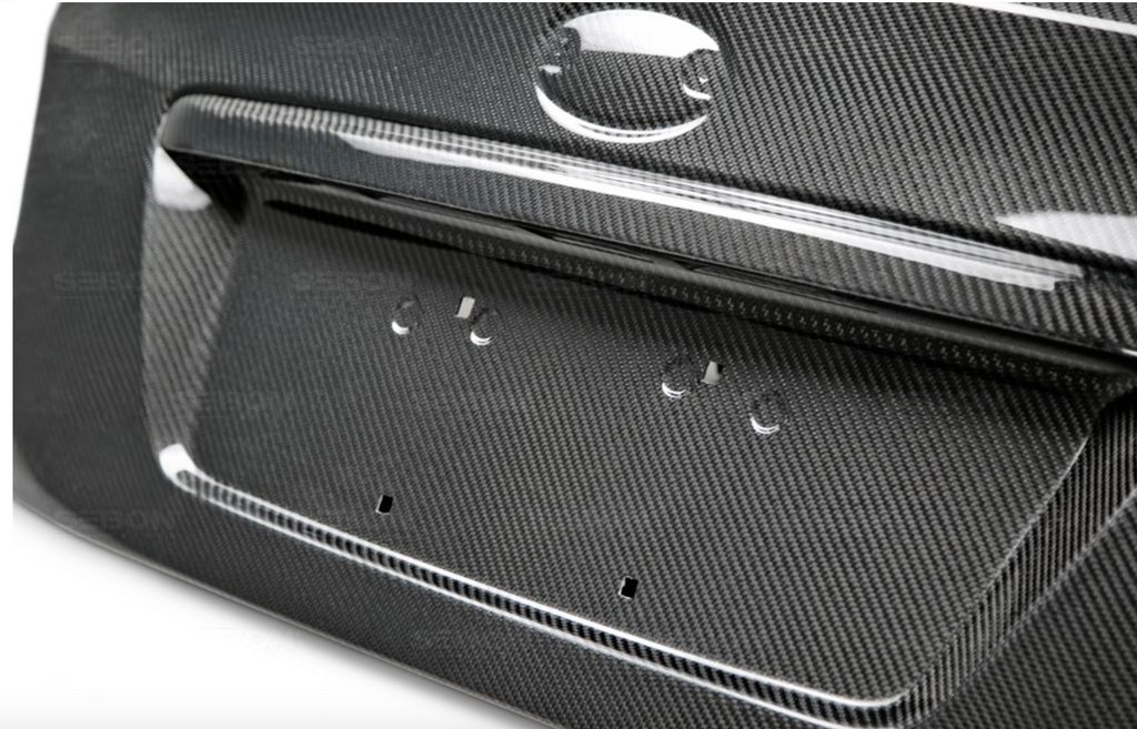 Seibon OEM-Style Carbon Fiber Trunk lid for 2015-up Subaru Impreza WRX/STi